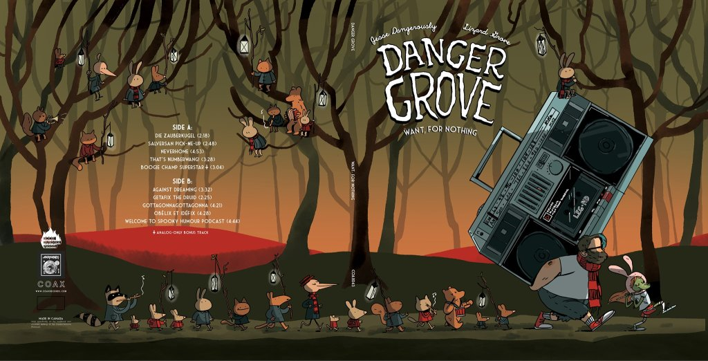 Danger Grove Want for Nothing cover