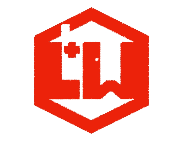 L&W RED PAINT LOGO